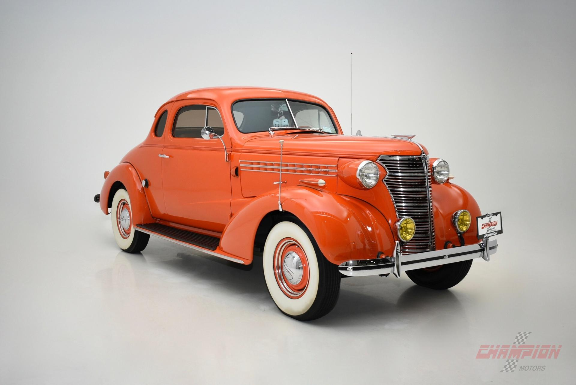 1938 Chevrolet Master Deluxe - Exotic Classic Car Dealership New ...