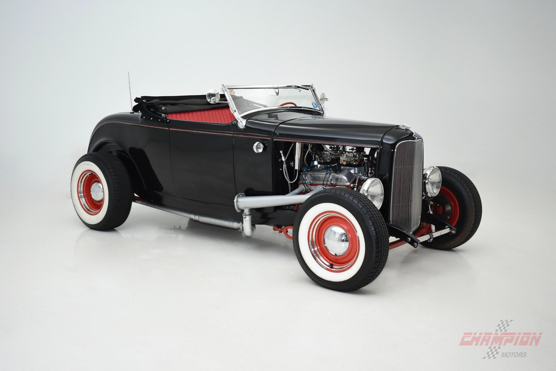 1932 Ford Deuce Hot Rod - Exotic Classic Car Dealership New York l ...