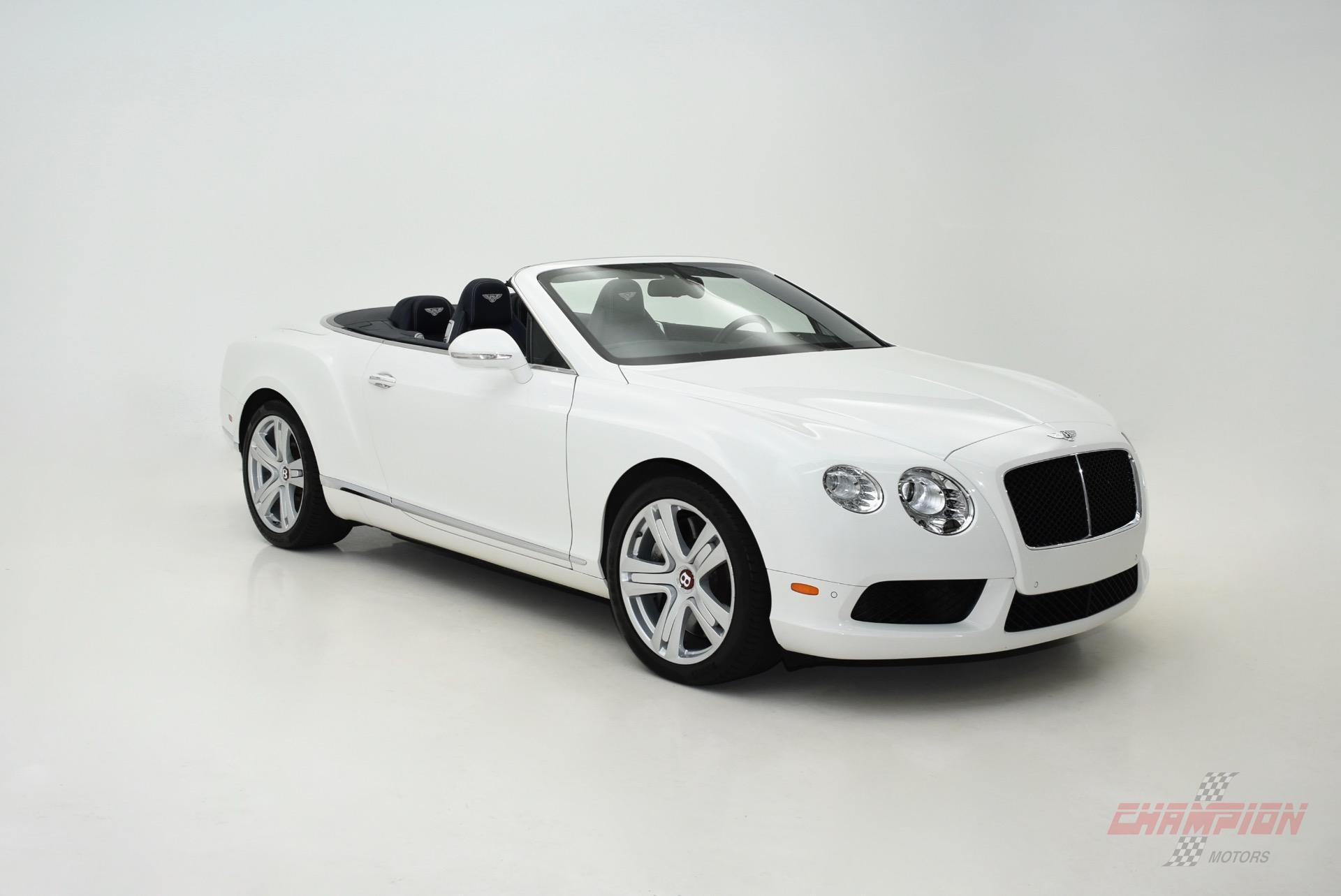 2013 Bentley Continental GTC V8 - Exotic and Classic Car Dealership ...
