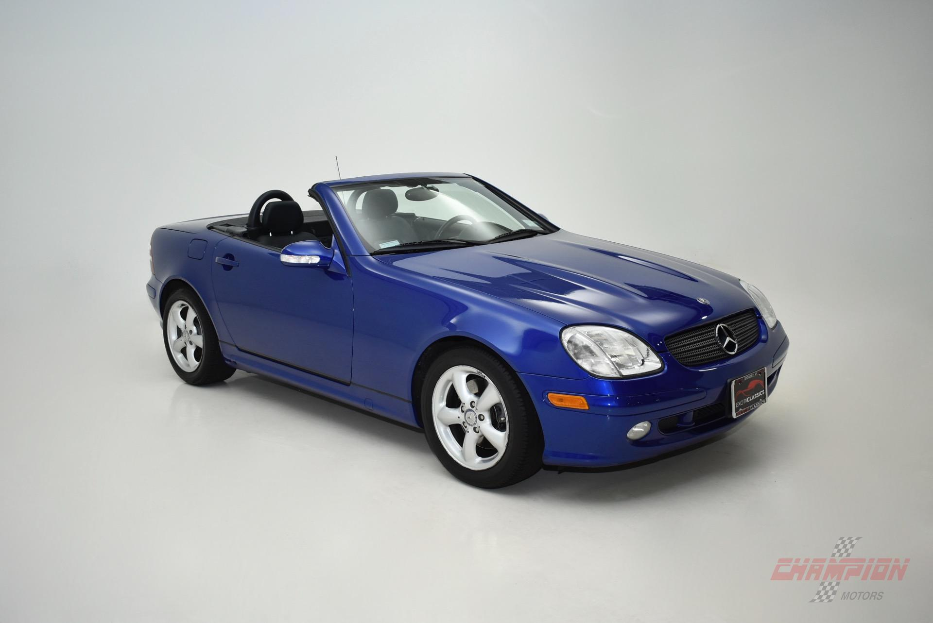 2001 mercedes benz slk slk 320 exotic and classic car dealership specializing in ferrari. Black Bedroom Furniture Sets. Home Design Ideas