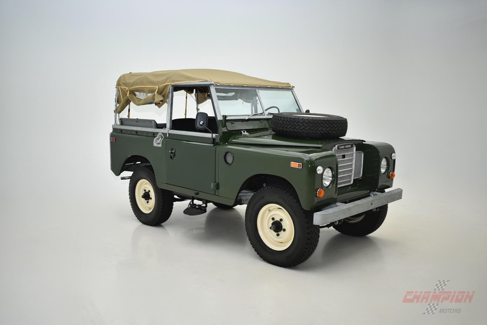1974 land rover 88 patrol series iii champion motors. Black Bedroom Furniture Sets. Home Design Ideas